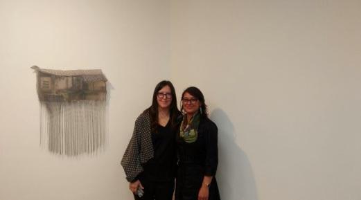 Leyla Cárdenas y Melissa Vargas. 2017