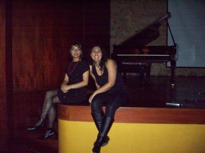 Natalia Merlano y Melissa Vargas
